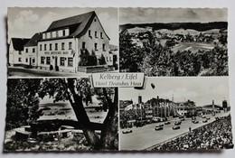 CPSM Allemagne Kelberg Eifel Hotel Deutsches Haus E. Wilhelm Cicruit Automobile De Course - Allemagne