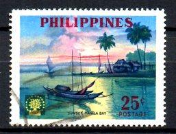PHILIPPINES. N°497 Oblitéré De 1960. Année Mondiale Du Réfugié. - Refugees