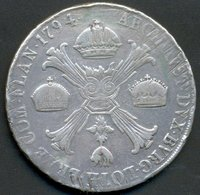 CROCIONE , KRONENTHALER 1794 M (MILANO) - Regional Coins