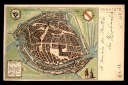 67 - STRASBOURG - PLAN DE LA VILLE EN 1572 - Strasbourg