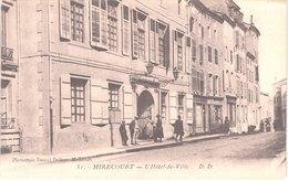 FR88 MIRECOURT - DD 31 - L'hôtel De Ville - Animée - Belle - Mirecourt