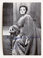 Musica Lirica - Autografo Del Soprano Angeles Gulin - Anni '70 - Autografi