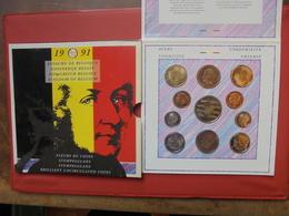 BELGIQUE FDC 1991 - 1951-1993: Baudouin I