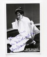 Musica Lirica - Autografo Del Soprano Elena Mauti Nunziata - Anni '70 - Autografi