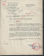 CINEMA LETTRE DE 1948 CENTRE NATIONAL DE LA CINEMATOGRAPHIE PARIS RUE CIMAROSA À BILLARD LUCIEN PARIS : - Manuscrits