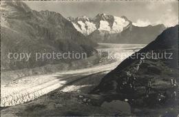 11762089 Riederalp Moosfluh Aletschgletscher  Riederalp - VS Valais