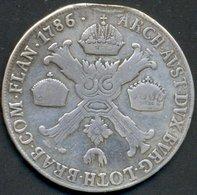 1/2 CROCIONE , 1786 M (MILANO) - Regional Coins