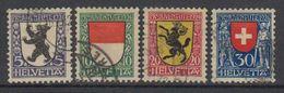Switzerland 1924 Pro Juventute 4v Used (42187) - Pro Juventute