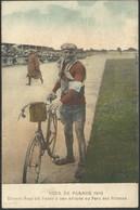 CPA Couleur TOUR DE FRANCE 1910 Ernest Paul Dit Faber Au Parc Des Princes - Cycling