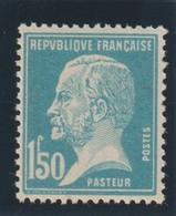 YT 181a **1,50F Bleu Pasteur, Faux De Marseille - 1922-26 Pasteur
