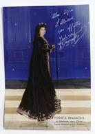 Musica Lirica - Autografo Della Cantane D'opera Federica Bragaglia - Anni '70 - Autografi