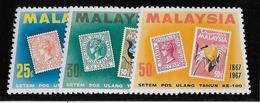 Malaisie N°48/50 - Oiseaux - Neuf ** Sans Charnière - TB - Malaysia (1964-...)