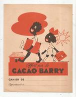 Protége Cahier , CACAO BARRY, L'AFRIQUE ,  2 Scans, Frais Fr : 1.75€ - Protège-cahiers