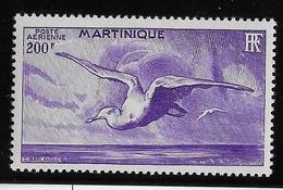 Martinique Poste Aérienne N°15 - Oiseaux - Neuf * Avec Charnière - TB - Poste Aérienne