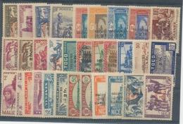 Colonies Françaises Série Secours National Complète Neuf Luxe ** H2267 - 1941 Secours National