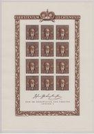 Liechtenstein 1940 Geburtstag Fürst Johann II 1v Sheetlet * Mh (mint, Hinged) Stamps Are Mnh (F7701) - Liechtenstein