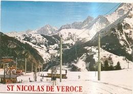 St Nicolas De Veroce Depuis Le Plateau De La Croix - France