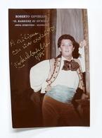 Musica Lirica - Autografo Del Baritono Roberto Coviello - Anni '80 - Autografi