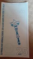 Aalst Carnaval Karnaval Weir Zingen Folklore. - Books, Magazines, Comics