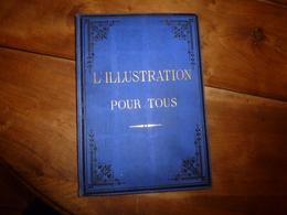 Rare 1882-83 :L'ILLUSTRATION POUR TOUS > Effets Du Hachiche;Les Chiens D'arrêt;Duguesclin;Jeanne D'Arc;Sorcellerie; Etc - Livres, BD, Revues