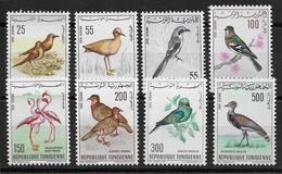 Tunisie Poste Aérienne N°26/33 - Oiseaux - Neuf ** Sans Charnière - TB - Tunisia (1956-...)