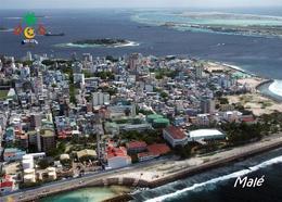 Maldives Malé Aerial View New Postcard Malediven AK - Maldives