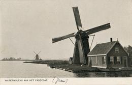 Roelofarendsveen, Molen De Jonge, Paddegat, Windmill - Windmolens