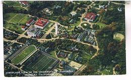 AEROPLANE VIEW OF THE UNIVERSITY  OF CALIFORNIA  BERKELEY  CALIFORNIA   TBE   US291 - Etats-Unis