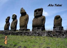 Easter Island Ahu Tahai Rapa Nui UNESCO New Postcard Osterinsel AK - Rapa Nui