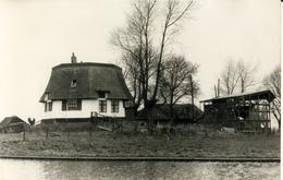 Bergschenhoek, Breggemolen Slootkant, Windmill, Afgeknotte Molen, Real Photo - Windmolens