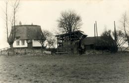 Bergschenhoek, Breggemolen Landkant, Windmill, Afgeknotte Molen, Real Photo - Windmolens