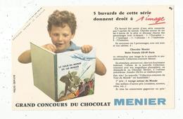 BUVARD , Chocolat MENIER ,grand Concours, Frais Fr : 1.55€ - Alimentaire