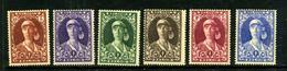 Belgique 1931 COB 328/31 Série Incomplète ** TB - Unused Stamps