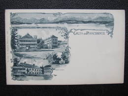 AK PÖCKING POSSENHOFEN Kr. Starnberg Gruss Aus... 1900///  D*37066 - Pocking