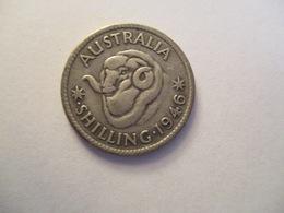 Australia: 1 Shilling 1946 - Monnaie Pré-décimale (1910-1965)