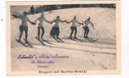 CH5384  SANKT-MORITZ : Skisport Auf Muottas-Muraigl - GR Grisons