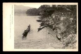 CONGO FRANCAIS - NOLA - CONVOI DE PIROGUES GOUNDIS - Congo Français - Autres