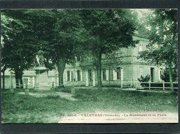 CPA - VALEYRAC - Le Monument Aux Morts Et La Poste - Altri Comuni