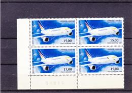 Poste Aérienne  1999 - Airbus A300-B4 -  N°63** - Bloc De 4 - 1960-.... Mint/hinged