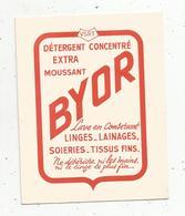 BUVARD , BYOR , Détergent - Non Classés