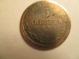 Saschen-Meiningen: 3 Kreuzer 1835 - [ 1] …-1871: Altdeutschland