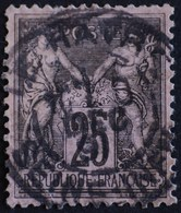 -Sage N°97 Type II   O.  LE HAVRE Déc 1891. - 1876-1898 Sage (Type II)