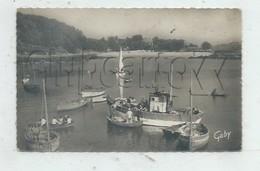 Névez (29) : Vue Générale Du Déchargement Du Poisson D'un Bateau De Pêche à Port Manec'h En 1950 (animé) PF. - Névez