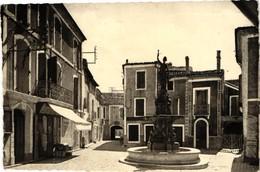 34 .. POMEROLS ... PLACE DE LA MAIRIE .. 1953 - Other Municipalities