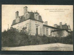 CPA - SAINT JULIEN DE MEDOC - Château Léoville Poyferré - France