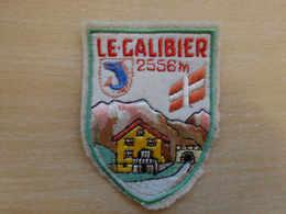 Ecusson Brodé France LE GALIBIER (vintage Années 70) (Embroidered Patch) (Port Gratuit -shipping Free !!!) - Ecussons Tissu