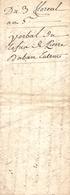 Vieux Papier Du Béarn, An VI, Daban De Soumoulou Refuse De Donner La Clé De La Maison Au Tribunal De Famille - Documents Historiques