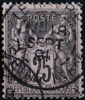 -Sage N°97 Type II   O.  LE HAVRE 18 Sept 1891. - 1876-1898 Sage (Type II)