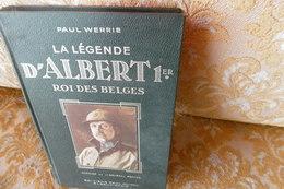Dessins D'Hergé : La LEGENDE D'ALBERT 1 Er , Roi Des BELGES , 1934 - Livres, BD, Revues