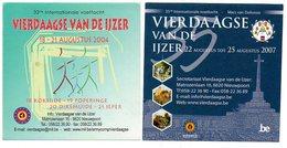 Sticker Autocollant Vierdaagse Van De Ijzer 2 Stuks/pcs Sport Wandelen Marche - Autocollants